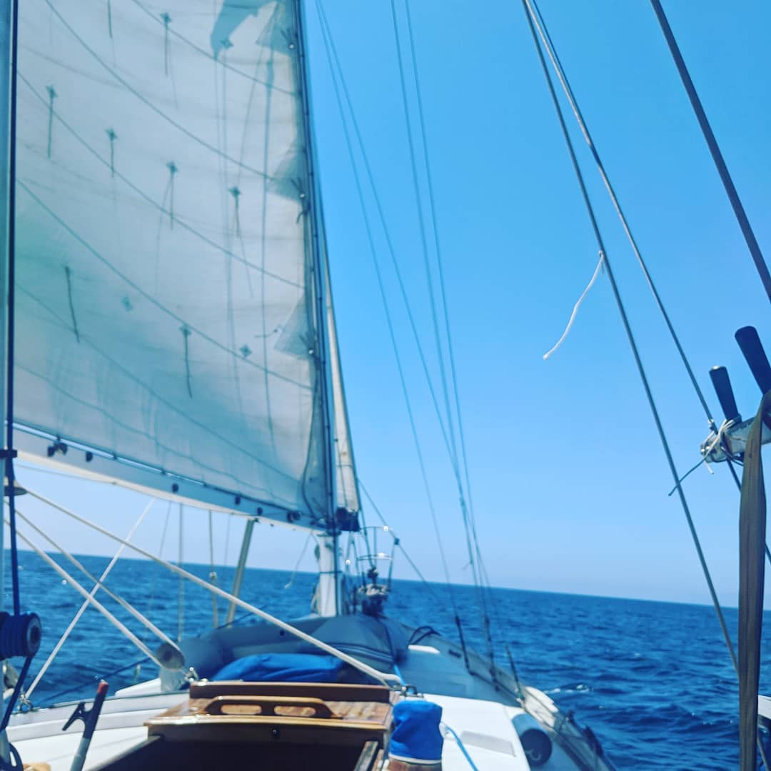 Solo Sail To Catalina Island 2020 July 4